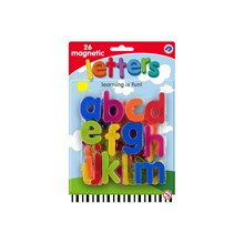 MAGNETIC LOWERCASE LETTERS - 26PACK