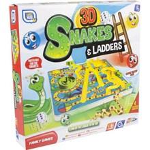 GAMES HUB - 3D SNAKES & LADDERS