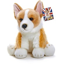 QUEEN'S CORGI - PLUSH DOG 30CM