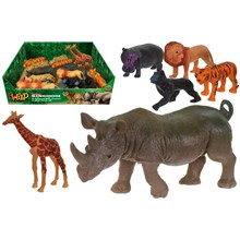 WILD ANIMAL KINGDOM - PVC ANIMALS - 8ASST
