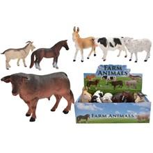 """5.5"""" FARM ANIMALS - 6 ASST"""