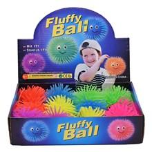 """4"""" FLUFFY BALL - 6ASST"""