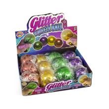 HGL - GLITTER SQUEEZE  BALL - 4ASST