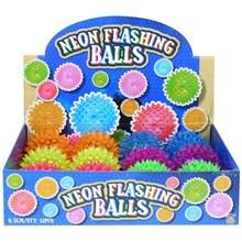 NEON FLASHING BALL SMALL - 6.5CM