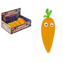 WIZZ TOYS - SQUEEZY CHEEKY CARROT