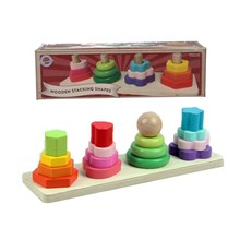 WOODEN CLASSICS - WOODEN STACKING SHAPES