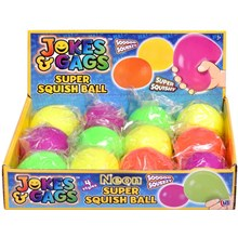 JOKES & GAGS - NEON SUPER SQUISHY BALL