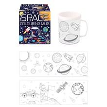 SPACE COLOURING MUG - 2ASST