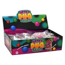 SPIKY D.N.A BALLS SQUEEZE BALLS - 6CM