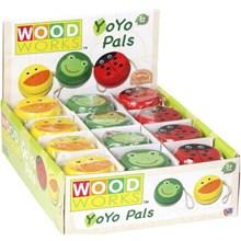 WOOD WORKS - WOODEN YO YO - 3ASST