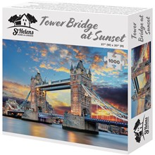 1000PC TOWER BRIDGE AT SUNSET JIGSAW PUZZLE