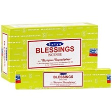 SATYA - BLESSINGS INCENSE STICKS - 15G X 12 PACK