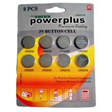 BUTTON CELL 8PC