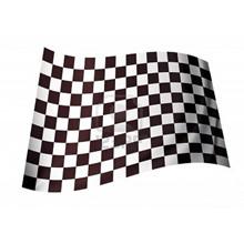B&W CHECKERED FLAG 5X3