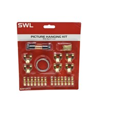 SWL - PICTURE HANGING SET - 23 PACK