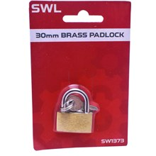 SWL - BRASS PADLOCK - 30MM