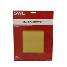 12PC SANDPAPER SWL