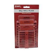 SWL - WALL PLUGS - 80 PACK