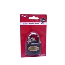 SWL - CAST IRON PADLOCK - 50MM