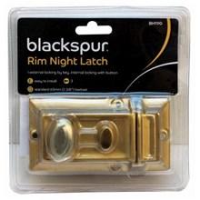 BLACKSPUR - RIM NIGHT LATCH