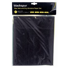 BLACKSPUR - WET & DRY PAPER SET - 10 PACK