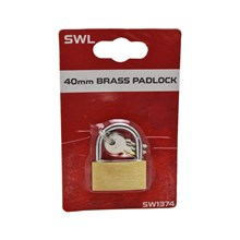 SWL - BRASS PADLOCK - 40MM