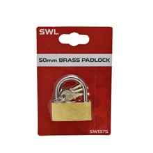 SWL - BRASS PADLOCK - 50MM