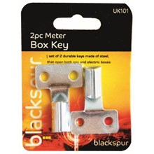 BLACKSPUR - METER BOX KEY - 2 PACK