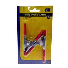 SWL - METAL SPRING CLAMPS - 2 PACK