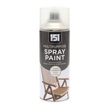 151 - MULTIPURPOSE SPRAY PAINT CLEAR LACQUER 400ML