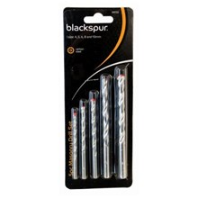 BLACKSPUR 5PC MASONRY DRILL SET