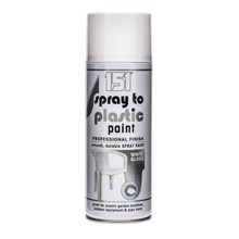 151 SPRAY TO PLASTIC SPRAY PAINT - WHITE GLOSS