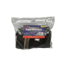 RAPIDE - ASSORTED SIZED PAINT BRUSHES - 25 PACK