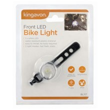 KINGAVON - FRONT LED BIKE LIGHT
