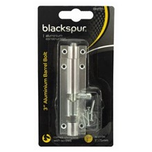BLACKSPUR - ALUMINIUM BARREL BOLT - 3""