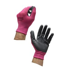 EASI SAFE - NITRILE WORKING GLOVES - PINK SMALL