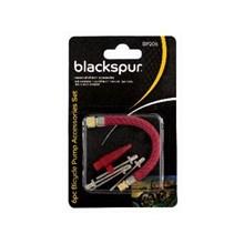 BLACKSPUR - 6PC BICYCLE PUMP ACCESSORIES