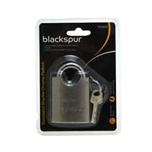 BLACKSPUR-CONCEALED SHACKLE CHROME PADLOCK 50MM