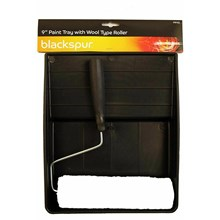 """BLACKSPUR - 9"""" PAINT TRAY WITH ROLLER"""