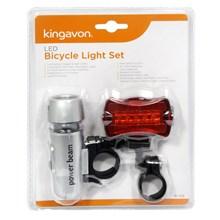 KINGAVON - LED BICYCLE LIGHT SET