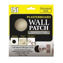 151 - PLASTERBOARD WALL PATCH