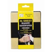 151 - SANDPAPER SET - 36 PACK