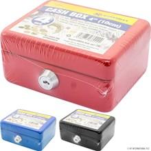 """MARKSMAN - 4"""" CASH BOX - 3 ASST"""