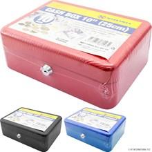 """MARKSMAN - 10"""" CASH BOX - 3 ASST"""