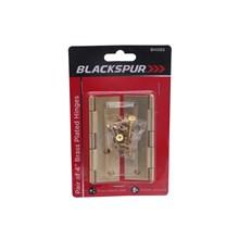 BLACKSPUR - BRASS PLATED HINGES 4'' - 2PCS