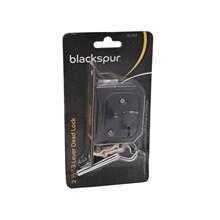 BLACKSPUR - 3 LEVER DEAD LOCK 2 1/2