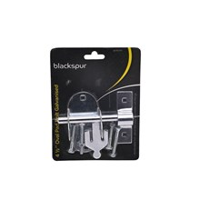 BLACKSPUR - OVAL PAD BOLT GALVANISED - 4 1/2''