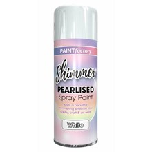 PAINT FACTORY - PEARLISED  WHITE PAINT - 400ML