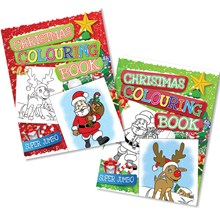 CHRISTMAS SUPER JUMBO COLOUR BOOK