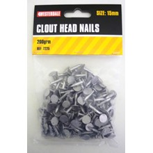 150GRM CLOUT HEAD NAILS 40MM